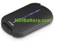 Batería externa para dispositivos móviles 5V/11200mAh Li-Pol
