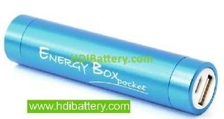 Bateria externa universal para dispositivos moviles 5V 2200MAH