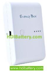 Bateria externa universal para dispositivos moviles 5V 8800MAH