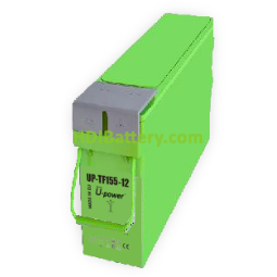 Bateria frontal AGM 12 Voltios 155 Amperios UP-TF155-12 U-POWER 555mm (L) x 125mm (An) x 276mm (Al)