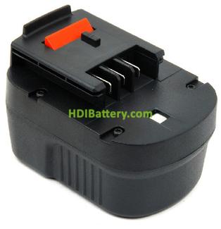 Batería herramienta inalámbrica 12V 1.5Ah Black & Decker A12, A12EX, A12XJ