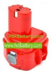 Batería herramienta inalámbrica 12V 1.5Ah Makita 1050D, 1050DA, PE7000, Klauke EK120U ,9000, 9001, 9002,9033.9600