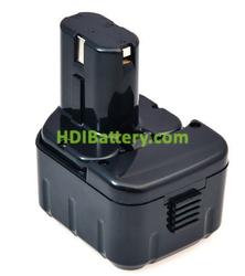 Batería herramienta inalámbrica 12V 2.5Ah Hitachi DW18D, EB1212S, EB1214L NimH