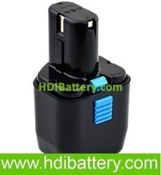Batería herramienta inalámbrica 12V 2Ah Hitachi,C5D, CD4D, CL10D2, CL13D, WR12DMR, Würth, 70236, ABS 12-E, EB12, EB1224, EB12B, EB12G, EB12M, EB12S