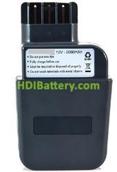 Batería herramienta inalámbrica 12V 2Ah Metabo 12 V Sb EA 112/2 R+L NiMh