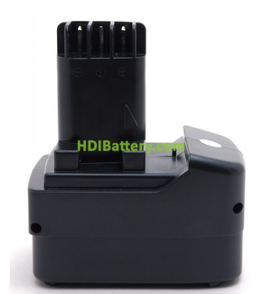 Batería herramienta inalámbrica 12V 3Ah Metabo BS12 Impuls, BS12 Plus, BS12SP, 6.31729