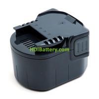 Batería herramienta inalámbrica 12V 3Ah Würth 700980320, AEG BSB12G NimH