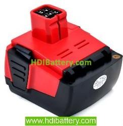 Batería herramienta inalámbrica 14.4V 3000mAh Hilti144-A, 144-A, B144/B14, B144B14 Lithium