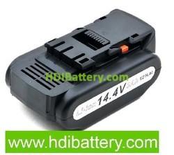 Batería herramienta inalámbrica 14.4V 3000mAh Panasonic EZ4540LZ2S, EZ4540X,EY3640LR1S, EY3640LR1S, EY3641K Lithium-Ion