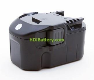 Batería herramienta inalámbrica 14.4V 3Ah AEG B1415R, B1420R, 0700980425, B1415R B1420R, ML1430