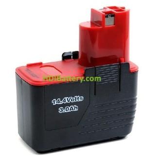 Batería herramienta inalámbrica 14.4V 3Ah Bosch 2607335210, 2607335252, 2607335248 NimH