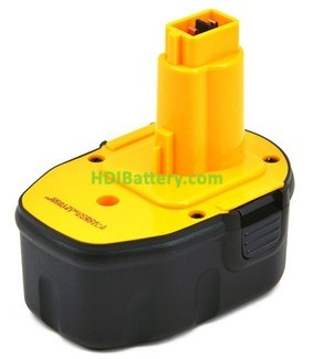 Batería herramienta inalámbrica 14.4V 3Ah Dewalt DE9091,DE9092,DE9038, DE9094