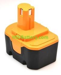 Batería herramienta inalámbrica 14.4V 3Ah Ryobi RY6201,RY6202,BPP1417 NIMH
