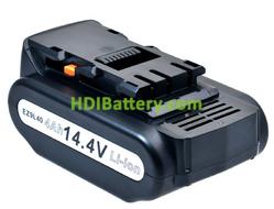 Batería herramienta inalámbrica 14.4V 4000mAh Panasonic EZ4540LZ2S, EZ4540X,EY3640LR1S, EY3640LR1S, EY3641K Lithium-Ion