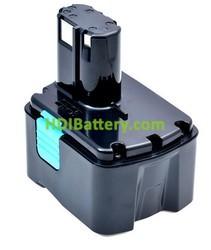 Batería herramienta inalámbrica 14.4V 4Ah Hitachi BCL1430 Litio-Ion