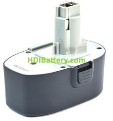 Batería herramienta inalámbrica 18V 3Ah Black & Decker CD18C A9282