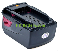 Batería herramienta inalámbrica 21.6V 4Ah Hilti B22 B22/2.6 Li-Ion