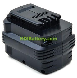 Batería herramienta inalámbrica 24V 2Ah Dewalt DC224KB, DE0240, DW0242, DE0240 Nicd