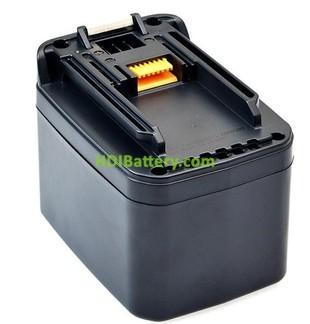 Batería herramienta inalámbrica 24V 3.2Ah Makita BH2420, BH2433, HR2440, BH2433, 193127-4