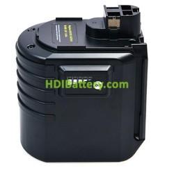 Batería herramienta inalámbrica 24V 3Ah Bosch con indicador de carga 260733516,2607335190,2607335192,Berner 12342.9, BACHD,BACHD 24 VRE II,BTI 24 V BHE 24VRE NimH