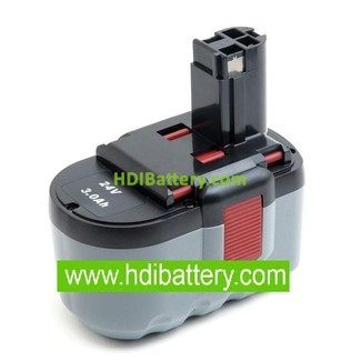Batería herramienta inalámbrica 24V 3Ah Bosch NimH,GBH, 11524, 125-2411524,12524,13624 .