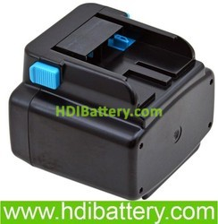 Batería herramienta inalámbrica 24V 3Ah Hitachi, EB2430HA, EB2430R, EB2433X, EB2430HA, EB2430R, EB2433X, EB2420.