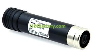 Batería herramienta inalámbrica 3.6V 2100mAh Black & Decker HC400, VP100 type 2 Nimh