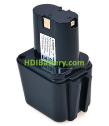 Batería herramienta inalámbrica 7.2V 2Ah 2607300001 2607335178 BS-6 Nicd