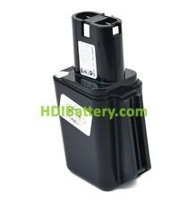 Batería herramienta inalámbrica 9.6V 1.4Ah Bosch 2607300002, 2607335069, 2607335103, 2607335176, 2607335501