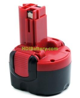 Batería herramienta inalámbrica 9.6V 1.5Ah Bosch 2607335271 2607335272 2607335540