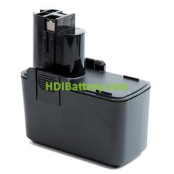 Bateria herramienta inalámbrica 9.6V 2.1AH Bosch 2607335035, 2607335037, Würth ASS 96-M NimH