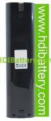 Batería herramienta inalámbrica 9.6V 2Ah Makita 4190DW, 4300DW, 4390DW,6012HDW 9000,9001, 9002, 9033, 9600.