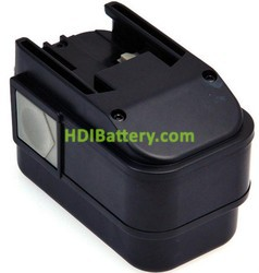 Batería herramienta inalámbrica 9.6V 3Ah AEG 9.6 V B9.6, Atlas Copco 9.6 V BXS9.6 NimH