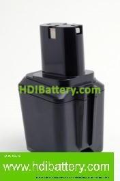 Batería herramienta inalámbrica Bosch 12V 1.5Ah Nicd 2607300000, 2607335014, 2607335021