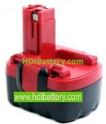 Batería herramienta inalámbrica Bosch 14.4V 1.5Ah Nicd 13614, 1661, 1661K, 22614, GSR