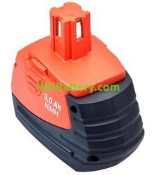 Batería herramienta inalámbrica HILTI 18V 3Ah SFB180,SFB185,00370101,370101