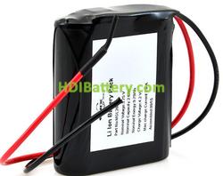 Batería Li-Ion 1S1P MP144350 3.75V 2.6h Salida Cable 800042