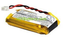 Batería Li-Polímero para collar de perro 3,7V 300mAh 32,0x17,0x8,0mm