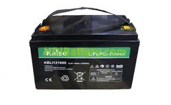 Batería LiFePO4 12.8 Voltios 100 Amperios Kaise KBLI121000 330x173x220 mm