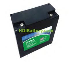 Batería LiFePO4 12.8 Voltios 20 Amperios PFS LDP 12-20 181x77x167 mm