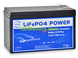Batería LiFePo4 12 Voltios 7.5 Amperios
