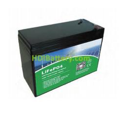 Batería LiFePO4 12 Voltios 7,2 Amperios PFS - LDP12- 7.2