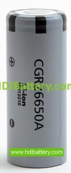 Bateria litio  CGR-26650 Li-Ion HD 3.7V 2500mAh