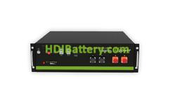 Batería Solar Litio Ecoline 48 Voltios 3600W