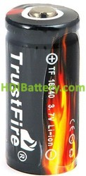 Batería litio industrial TF16340 (CR123)+PCM 3.7V 880mAh PP
