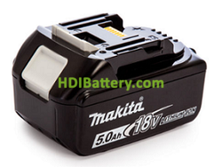 Batería Litio-Ion Makita 12V 5Ah 124x106x94 mm