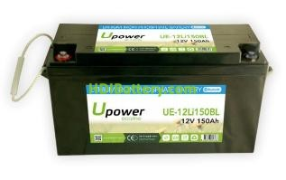 Batería litio Upower Ecoline 12V 150Ah UE-12Li150BL 483.5x170x241