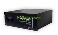 Batería litio Upower Ecoline 48V 100Ah UE-48Li100BL 482x220x520
