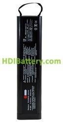 Batería ordenador portátil 10.8V 4000mAh Philips Telemon M2636A M2636B M2636C M4790A