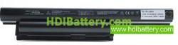 Batería ordenador portátil 10.8V 5200mAh Sony Vaio VPC-EF3S1E/WI. VGP-BPS22. VGPBPS22. VGP-BPS22A. MAS..
